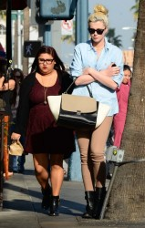 Ireland Baldwin - Out in Beverly Hills 1/23/14