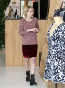 Emma Roberts - Shopping in L.A. 1/24/14