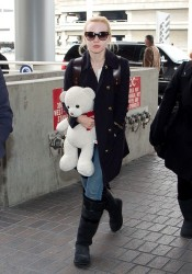 Dove Cameron - at LAX Airport 1/24/14