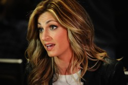 Erin Andrews - Super Bowl XLVIII FOX Sports Media Availabilty in NYC 1/28/14