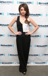 Sarah Hyland - at SiriusXM Studios in NYC 1/29/14