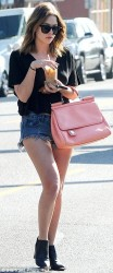 Ashley Benson - out for a coffee in L.A 1/29/14