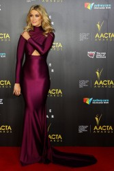 Delta Goodrem - 3rd Annual AACTA Awards in Sydney 1/30/14
