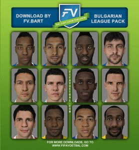 Download Bulgarian League Facepack by FV.Bart