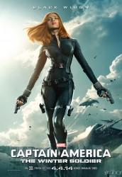 Scarlett Johansson - Captain America: The Winter Soldier Poster