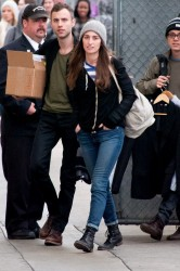 Sara Bareilles - arrives at Jimmy Kimmel Live in Hollywood 1/30/14