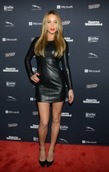 Hannah Davis - Sports Illustrated MVP Night in NYC 1/30/14