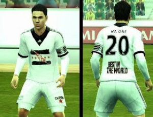 Download WWE Kit For PES 2013 By Wa One