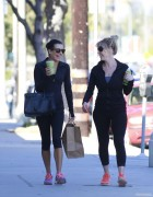 Lea Michele at Sun Cafe, Los Angeles 02.01.2014