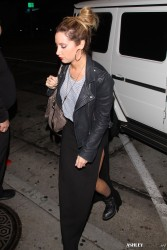 Ashley Tisdale - Leaving Craig's in West Hollywood 1/29/14
