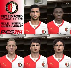 Feyenoord Facepack by kpt1