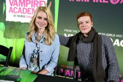 Lucy Fry - 'Vampire Academy' cast meets fans in Hollywood 2/3/14