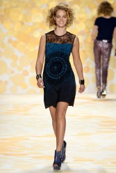 Erin Heatherton - Desigual F/W 2014 Fashion Show in NYC 2/6/14