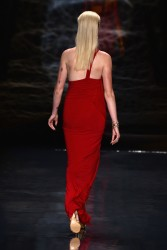 Ireland Baldwin - Go Red For Women The Heart Truth Red Dress Collection 2014 Show 2/6/14