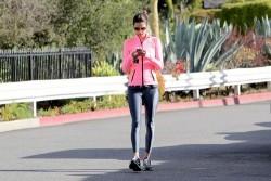 Alessandra Ambrosio - out in Santa Monica 2/8/14