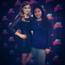Stefanie Scott at Planet Hollywood Times Square in NYC 2/8/14
