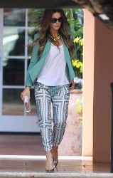 Kate Beckinsale - at Gwen Stefani's baby shower in Bel-Air 2/8/14