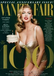 Kate Upton x4 Vanity Fair US October,