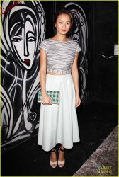 Jamie Chung - Alice + Olivia Fashion Show in NYC 2/10/14