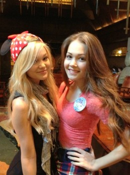 Kelli Berglund And Olivia Holt And Kelsey Chow