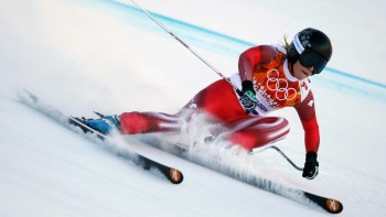Lara Gut - Wallpapers Sochi Downhill - Wide - x 3