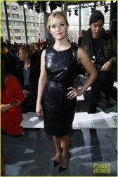 Reese Witherspoon - Boss Women F/W 2014 Fashion Show in NYC 2/12/14