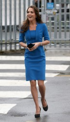 Catherine, Duchess of Cambridge - ICAP Art Room opening in London 2/14/13