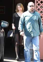 Taylor Swift - Leaving a dance studio in LA 2/17/14