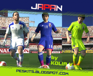 601242fb5 PES 2014 Japan GDB Kits by Kolia V. - PES Patch