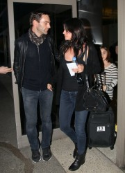 Courteney Cox - At LAX Airport 2/21/14