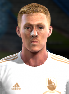 Download Garry Monk PES 2012-2013 face by EmmRow