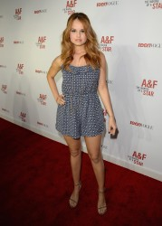 Debby Ryan - Abercrombie & Fitch �The Making of a Star� Spring Campaign Party in Hollywood 02/22/14