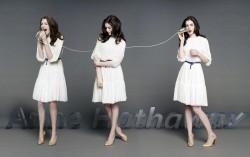 Anne Hathaway, Jennifer Lawrence, Jessica Alba, Jessica Biel, Tricia Helfer (Wallpaper) 6x