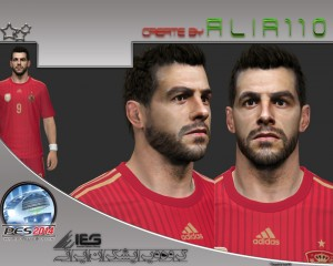 Download PES 2014 Álvaro Negredo Face by Alir110