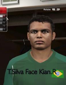 Download Thiago Silva Face For PES 2014 By Kian Rasooli