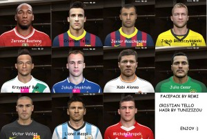 Download PES 2014 Big FacePack by Remi