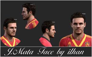 Download PES 2013 Juan Mata Face by ilhan