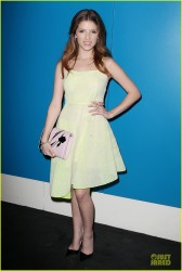"Anna Kendrick - ""The Last 5 Years"" Screening in NYC 2/24/14"