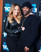 Mariah Carey - Visits Power 105.1 18-02-2014 (x7)