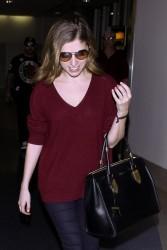 Anna Kendrick - At LAX Airport 2/25/14
