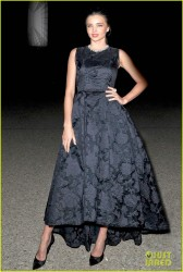 Miranda Kerr - H&M Fashion Show in Paris 2/26/14