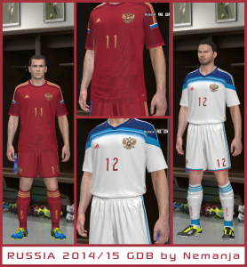 Download PES14 Russia 2014-15 GDB Kit by Nemanja