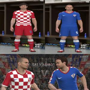 Download Croatia Kits GDB 2014 By Salichinko