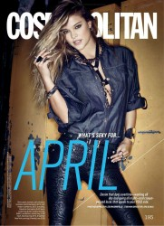 Nina Agdal - Cosmopolitan (US) - April 2014