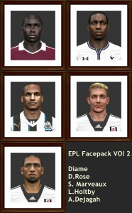 Download PES2014 EPL Facepack vol. 2 by shaggyboss