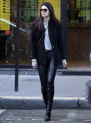 Kendall Jenner - Out in Paris 2/28/14