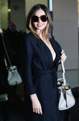 Miranda Kerr - Leaving the Sonia Rykiel Fashion Show in Paris 2/28/14