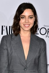 Aubrey Plaza - Vanity Fair Campaign Hollywood Kick Off in LA 2/28/14
