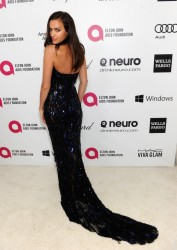 Irina Shayk - 22nd Annual Elton John AIDS Foundation Academy Awards Viewing Party 3/2/14