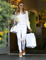Paris Hilton - Out for lunch in Studio City 3/3/14
